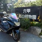 マジェスティ六甲高山植物園ツーリング