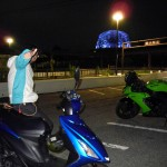 Z1000チェーンメンテ&六甲ナイトツーリングin兵庫
