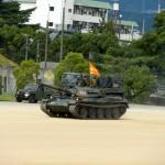 マジェスティで陸上自衛隊のイベントへin兵庫
