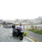マジェスティ 白崎海洋公園ツーリングin和歌山
