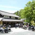 マジェスティ 伊賀食堂ホルモンツーからの古民家そばツーリングin三重