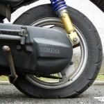 ジョグ 原付スクーターのタイヤパンク交換修理