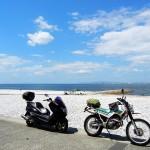 マジェスティ 鯛のわさびスープ&山盛しらす丼ツーリングin和歌山県加太漁港