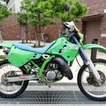 KDX125SR 原付二種オフロードバイクヤフオク出品売却