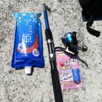 NMAX125 ダイソーの1000円釣り竿でサビキ釣りツーリングin兵庫県西宮市