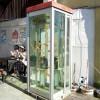 マジェスティ 金魚が泳ぐ電話ボックスの珈琲屋さんツーリングin奈良県大和郡山市