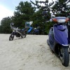 ジョグ 125cc以下だと走れる天橋立ツーリングin京都府宮津市